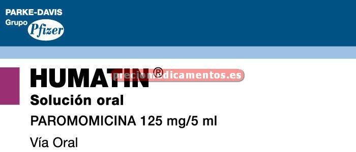 Caja HUMATIN 125 mg/5 ml solución 60 ml