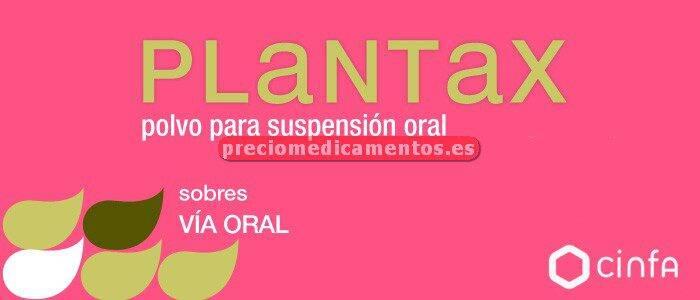Caja PLANTAX 16 sobres suspensión oral