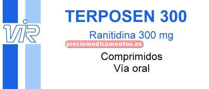 Caja TERPOSEN 300 mg 28 comprimidos