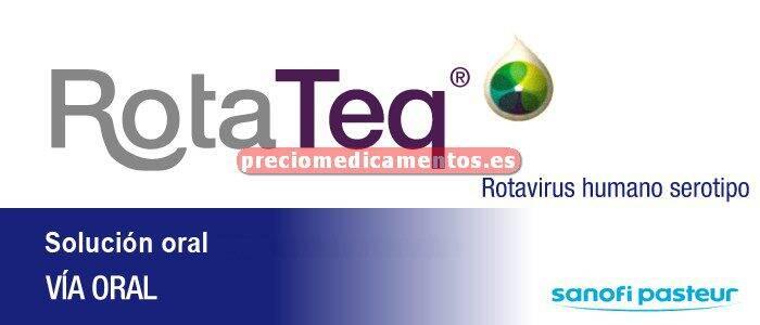 Caja ROTATEQ solución oral 2 ml tubo exprimible