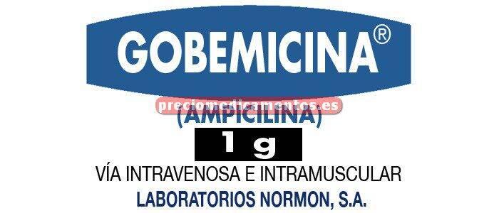 Caja GOBEMICINA 1 g 1 vial 4 ml