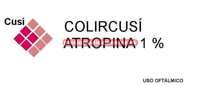 Caja COLIRCUSI ATROPINA 1% colirio 10 ml