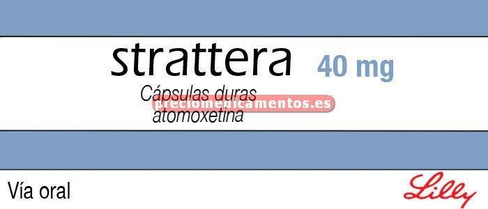 Caja STRATTERA 40 mg 28 cápsulas