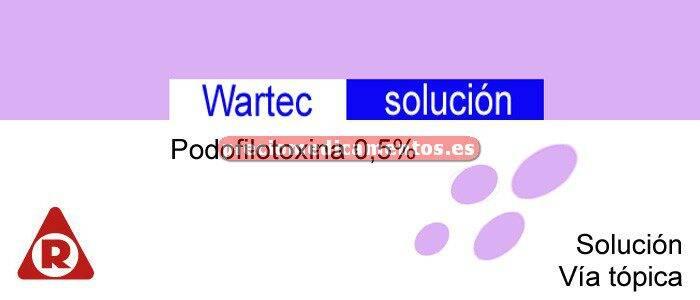 Caja WARTEC 0,5% solución 3 ml