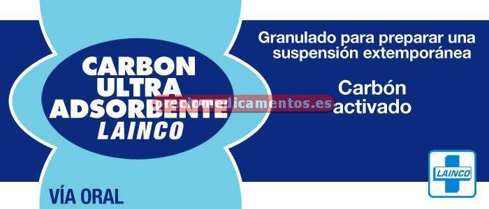 Caja CARBON ULTRA ADSOR LAINCO 25g/frasco granul 30,75g
