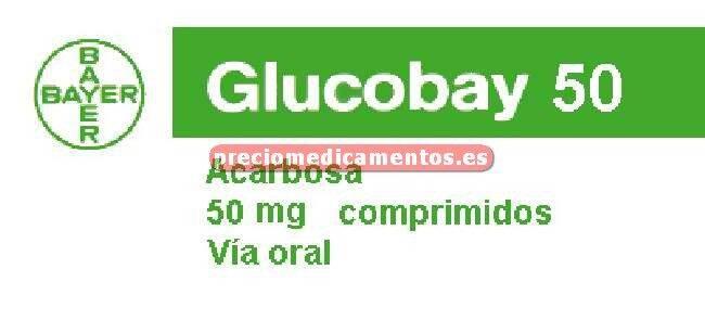 Caja GLUCOBAY 50 mg 100 comprimidos