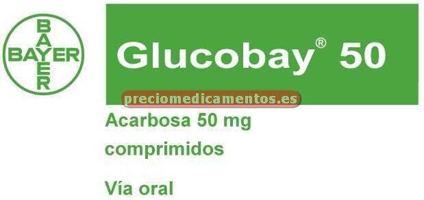 Caja GLUCOBAY 50 mg 30 comprimidos