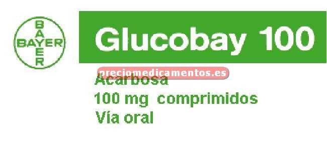 Caja GLUCOBAY 100 mg 100 comprimidos