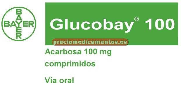 Caja GLUCOBAY 100 mg 30 comprimidos