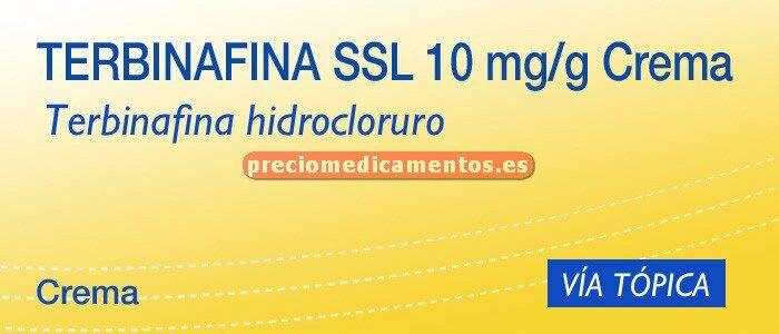 Caja TERBINAFINA SSL 1% crema 15 g
