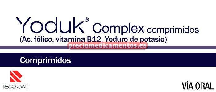 Caja YODUK COMPLEX 28 comprimidos