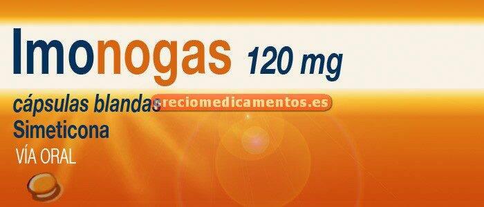 Caja IMONOGAS 120 mg 40 cápsulas blandas