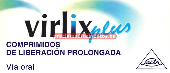 Caja VIRLIX PLUS 5/120 mg 14 compr liber prolongada