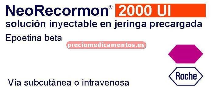 Caja NEORECORMON 2000 UI 6 jeringas precargadas