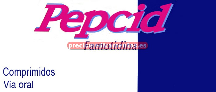 Caja PEPCID 10 mg 12 comprimidos recubiertos