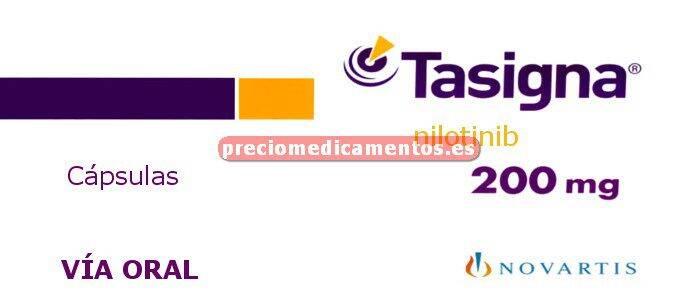 Caja TASIGNA 200 mg 112 cápsulas