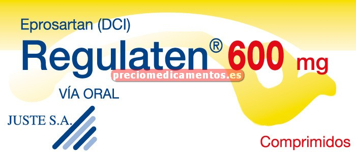 Caja REGULATEN 600 mg 28 comprimidos recubiertos