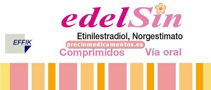 Caja EDELSIN 0,25/0,035 mg 3x21 comprimidos