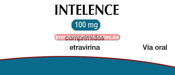 Caja INTELENCE 100 mg 120 comprimidos