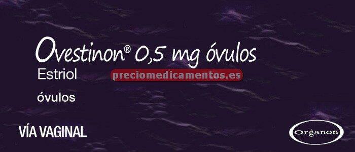 Caja OVESTINON 0,5 mg 30 óvulos
