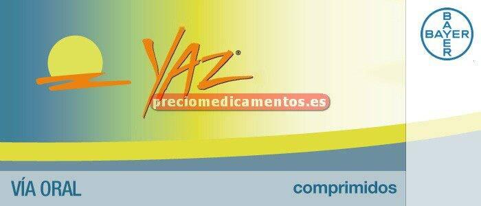 Caja YAZ 0,02/3 mg 28 comprimidos recubiertos