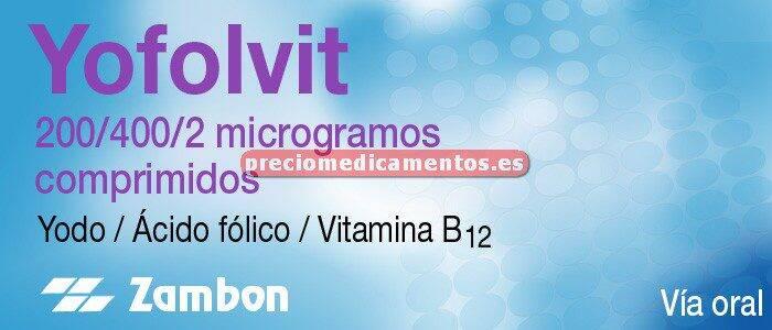 Caja YOFOLVIT 28 comprimidos