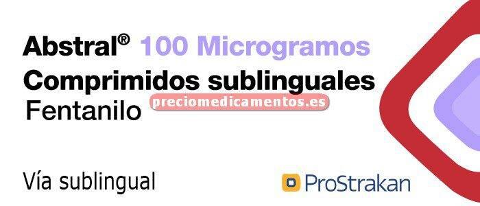 Caja ABSTRAL 100 mcg 10 comprimidos sublinguales