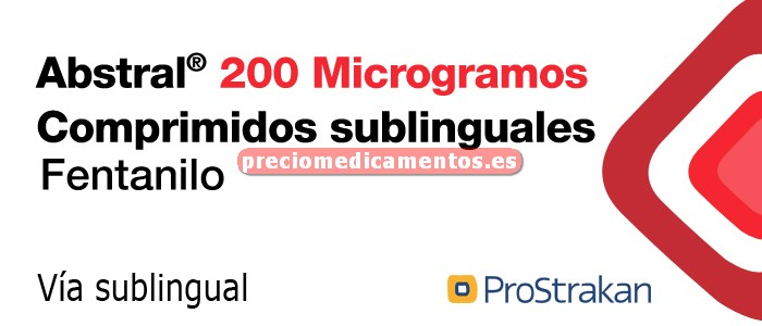 Caja ABSTRAL 200 mcg 30 comprimidos sublinguales