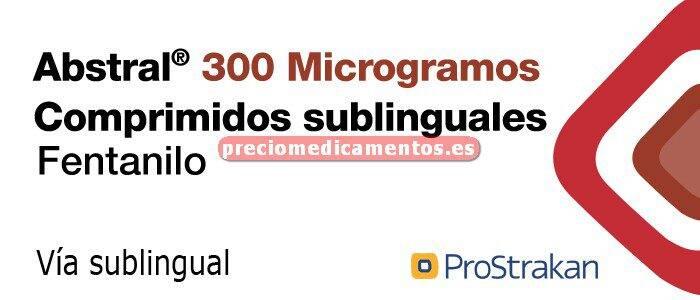 Caja ABSTRAL 300 mcg 10 comprimidos sublinguales
