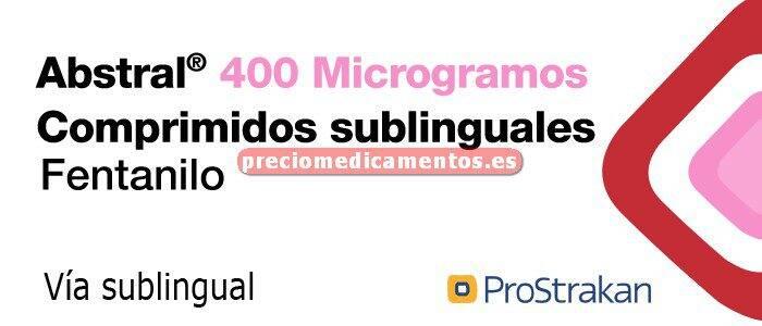 Caja ABSTRAL 400 mcg 10 comprimidos sublinguales