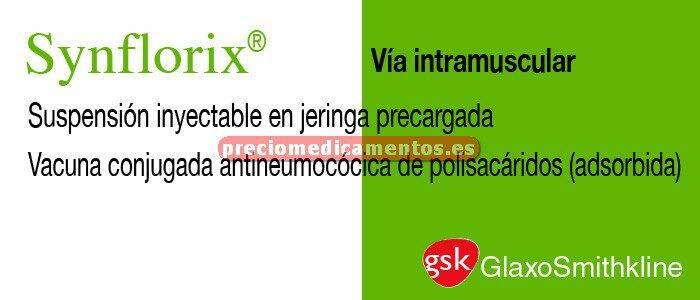 Caja SYNFLORIX 1 jeringa precargada 0,5 ml