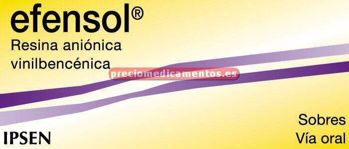 Caja EFENSOL 3 g 40 sobres suspensión oral