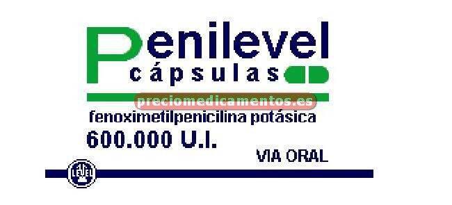 Caja PENILEVEL ORAL 400 mg 30 cápsulas