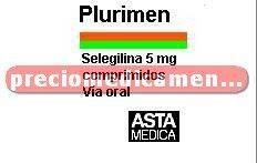 Caja PLURIMEN 5 mg 20 comprimidos