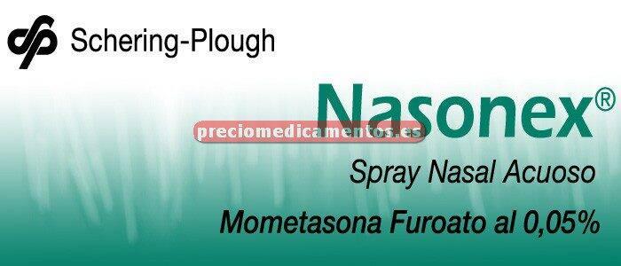 Caja NASONEX 50 mcg suspensión pulv nasal 140 dosis