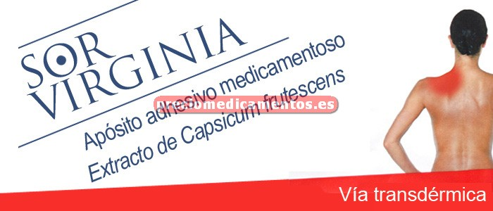 Caja SOR VIRGINIA apósito adhesivo RECTANGULAR