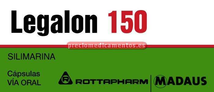Caja LEGALON 150 mg 30 cápsulas