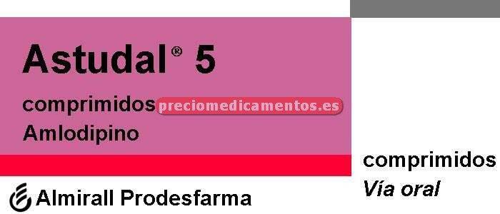 Caja ASTUDAL 5 mg 30 comprimidos