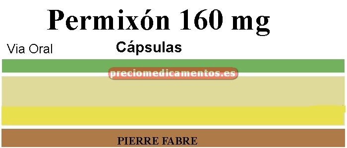 Caja PERMIXON 160 mg 60 cápsulas