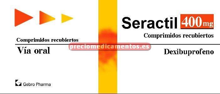 Caja SERACTIL 400 mg 30 comprimidos recubiertos