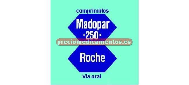 Caja MADOPAR 250 200/50 mg 100 comprimidos