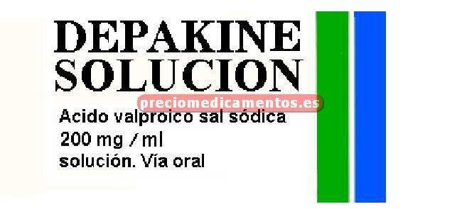 Caja DEPAKINE 200 mg/ml solución 60 ml
