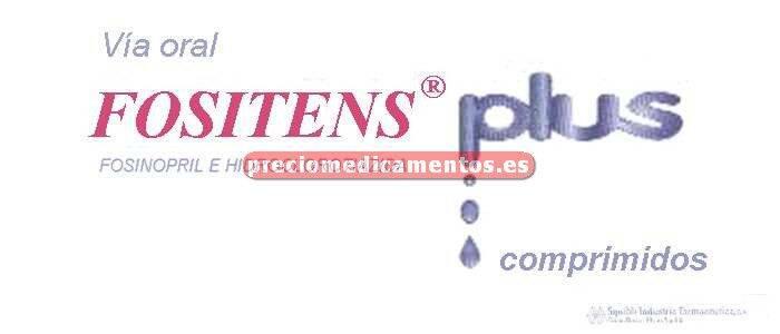 Caja FOSITENS PLUS 20/12.5 mg 28 comprimidos