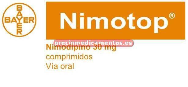 Caja NIMOTOP 30 mg 30 comprimidos