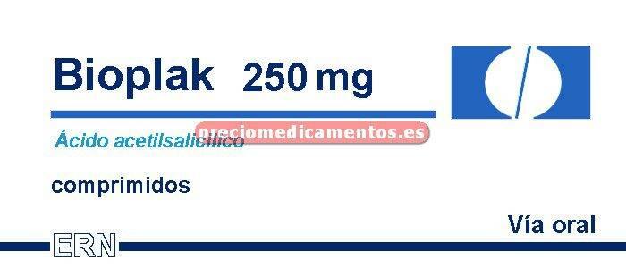 Caja BIOPLAK 250 mg 30 comprimidos