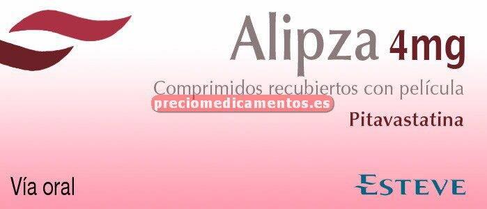 Caja ALIPZA 4 mg 28 comprimidos recubiertos