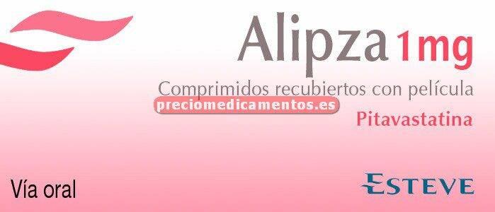 Caja ALIPZA 1 mg 28 comprimidos recubiertos