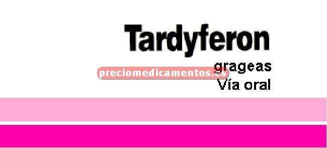 Caja TARDYFERON 80 mg 30 comprimidos recubiertos