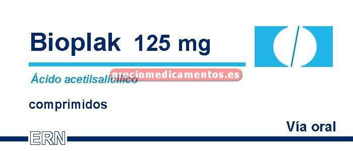 Caja BIOPLAK 125 mg 30 comprimidos