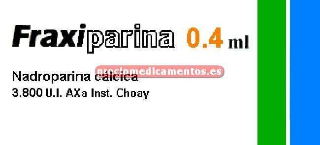 Caja FRAXIPARINA 3.800 UI 10 jeringas 0.4 ml